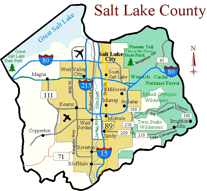 East  South Salt Lake City Utah Zip Code